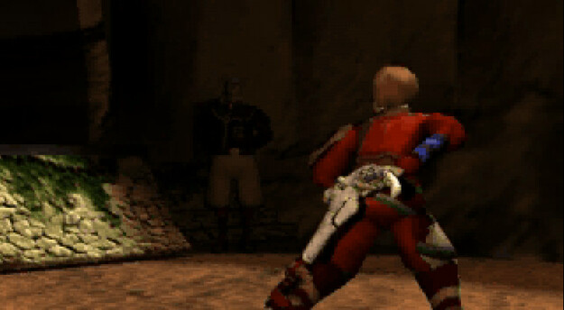 Panzer Dragoon Saga Cutscene Screenshot: Craymen at Zoah