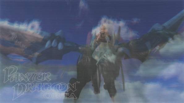 Panzer Dragoon Orta Hologram Card Front