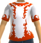 Xbox Live Avatar - White Reaver T-Shirt Close Up