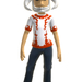 Xbox Live Avatar - White Reaver Helmet and T-Shirt Front View