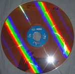 Panzer Dragoon Original Video Animation Japanese Laser Disc Front of Disc