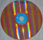 Panzer Dragoon Original Video Animation Japanese Laser Disc Back of Disc