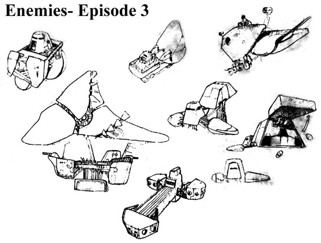 Panzer Dragoon Episode 3 Enemies