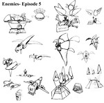 Panzer Dragoon Episode 5 Enemies