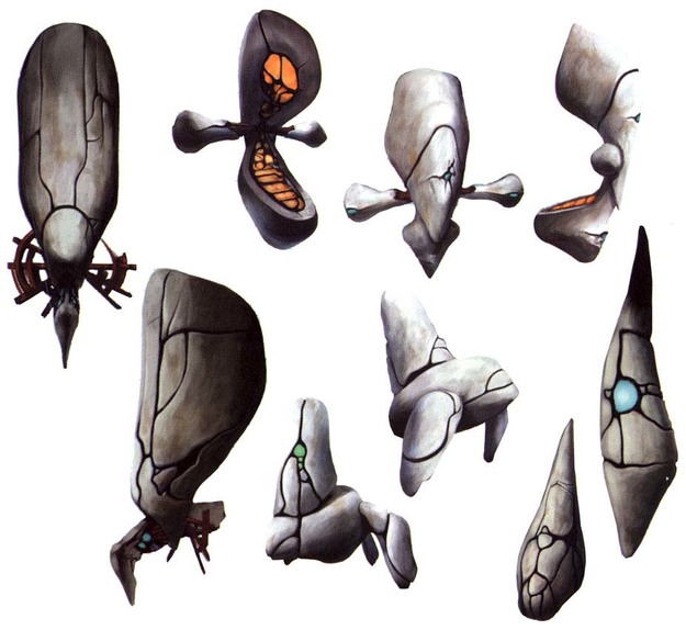 Panzer Dragoon II Zwei Pure Type Enemies