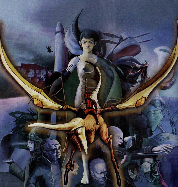 Panzer Dragoon Saga Cover Art