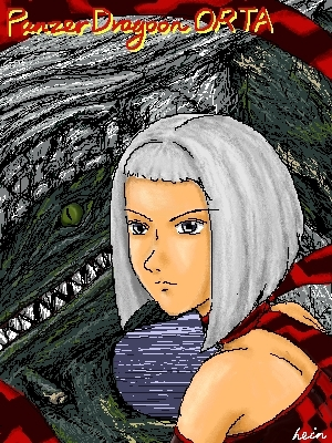 Orta and Her Dragon (Web Painter)